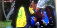 Video: Neymar schreeuwt moord en brand na stap op enkel