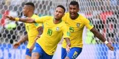 Brazilië maakt favorietenrol wél waar en verslaat Mexico
