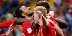 België met ultieme ommekeer in slotfase naar de kwartfinale