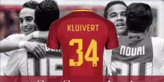 Kluivert kiest vanwege Nouri voor rugnummer 34 bij Roma