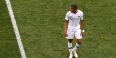 Mbappé speelde halve finale en finale WK met rugblessure