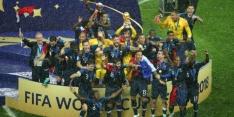 Video: wereldkampioen Frankrijk feestelijk gehuldigd