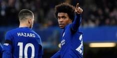 Willian hoopt dat landgenoot David Luiz bij Chelsea blijft