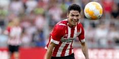 Lozano en Gutiérrez keren eerder terug in Eindhoven