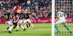 Kansenregen Feyenoord niet genoeg voor historische comeback
