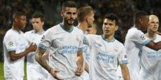 PSV'er Pereiro scoort namens Uruguay, Doan met Japan onderuit