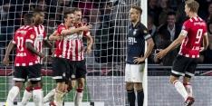 PSV neemt wraak op Willem II met royale en soevereine zege