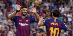 Barça maakt na achterstand acht goals tegen Huesca
