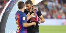 Luis Enrique passeert Alba weer, Alcacer en Koke wél opgeroepen