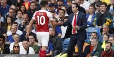 """Emery heeft geen problemen met Özil: """"Goede relatie"""""""