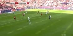 Video: Robben poeiert Bayern met prachtvolley op voorsprong