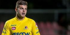 Goalie Van Gassel verricht zeventien reddingen tegen Jong Ajax