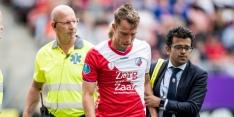 Van de Streek vreest uitwedstrijd tegen Feyenoord te missen