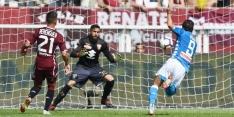 Napoli doet goede zaken met simpele winst op Torino