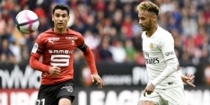 PSG komt achterstand te boven en wint ook bij Stade Rennes