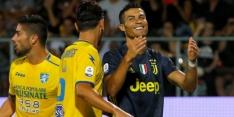 Juventus blijft foutloos aan kop dankzij late goal Ronaldo