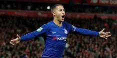 """Hazard: """"Dit doelpunt zit wel bij mijn mooiste drie goals ooit"""""""