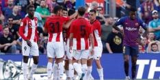 Barcelona lijdt voor derde keer puntverlies in Spanje