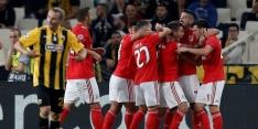 'Rood' Benfica ontsnapt aan puntverlies tegen AEK Athene