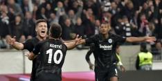 Winnend Eintracht Frankfurt stijgt naar subtop Bundesliga