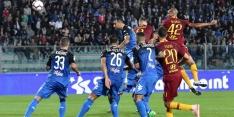 AS Roma wint zonder Kluivert en Karsdorp van Empoli