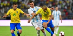 Brazilië wint in extremis van Messi-loos Argentinië