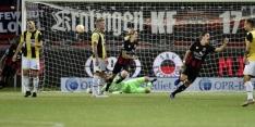 Excelsior wint na bizarre slotfase van matig Vitesse