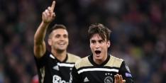 Ajax begint met vaste backs en Dolberg; Neres op de bank