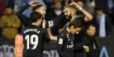 Real Madrid wint weer en kruipt dichter bij Barcelona