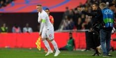 Rooney blij met afscheidsduel en rouwt niet om misser