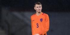 Jong Oranje begint nieuw tijdperk met oefennederlaag