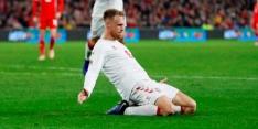 Slowakije degradeert naar Divisie C, Denen spelen gelijk