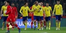 Turkije verliest van Zweden en degradeert in Nations League