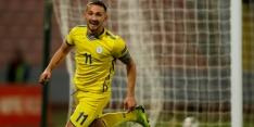 Willem II-speler Avdijaj laat zich zien in Nations League