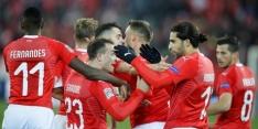 Zwitserland ruikt EK, Denen pakken belangrijke punten