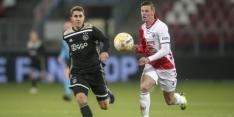 Jong Utrecht verslaat Jong Ajax doelpuntrijk; hattrick Venema