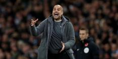 Guardiola baalt vanwege gemis van viertal sterkhouders in CL