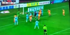 Keeper scoort in 14e (!) minuut blessuretijd tegen Iniesta in Japan