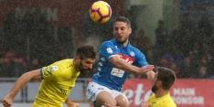 Napoli lijdt duur puntenverlies, Hateboer scoort en verliest