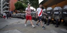 Gigantische politiemacht in Madrid vanwege Superclásico