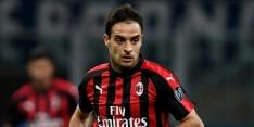 AC Milan rest van het seizoen zonder Bonaventura