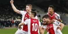 Ajax wint bij AEK en overwintert definitief in Champions League