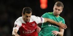 Arsenal laat Mkhitaryan thuis vanwege landen-conflict