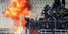 AEK twee duels zonder fans, Ajax vrijuit na ongeregeldheden