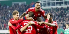 Bayern dankt Gnabry, maar loopt niet in op Dortmund