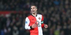 Tapia, Verdonk, Van Persie en Toornstra in Feyenoord-basis