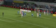 Video: Lamprou ziet er  niet goed uit bij tegengoal Ajax