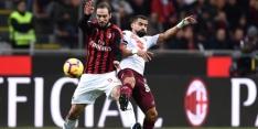 AC Milan worstelt zich in San Siro niet langs Torino