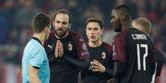 Higuaín niet bij AC Milan-selectie en lijkt op weg naar uitgang