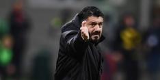 Ruzie Gattuso en Bakayoko bezorgt zege AC Milan nare nasmaak